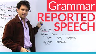 Learn English Grammar: Reported Speech / Indirect Speech