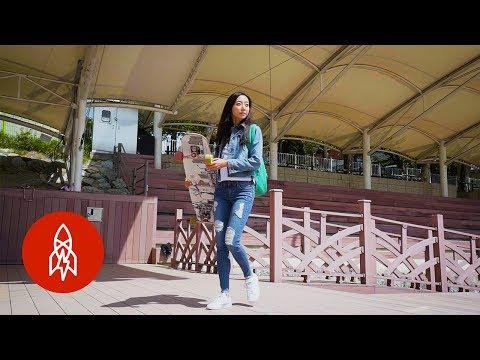 Longboard Dancing With South Korea's Skating Sensation