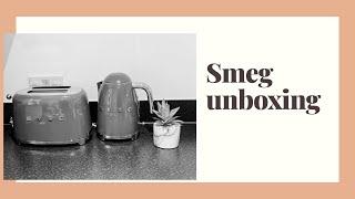 SMEG UNBOXING | SMEG KETTLE &a…