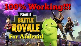 Fortnite Mobile Download - How to download Fortnite on Android