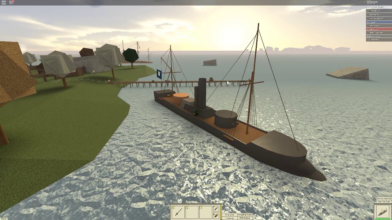 Roblox Tradelands The Poseidon Review - top 5 best trade ships roblox tradelands