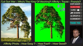 Cut Out War - Affİnity Photo - Tree - Maximum Difficulty! S1_E7