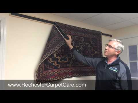 Hanging Your Rug On A Wall Youtube