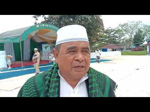 Kepala Kementrian Agama Malra sebagai Khotib Idul Adha 2019