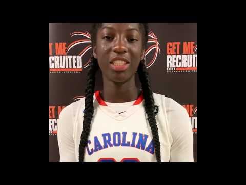 Saniya Rivers (EA Laney HS/Wilmington, NC) 2021 6'0 G