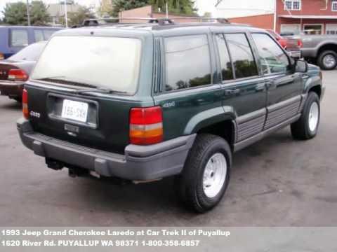 1993 jeep grand cherokee laredo 3488 at car trek ii of puyallup in puyallup wa youtube. Black Bedroom Furniture Sets. Home Design Ideas