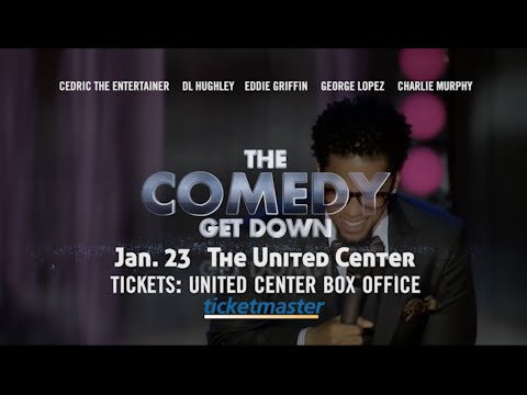 The Comedy Get Down - Jan. 23, 2016 - United Center, Chicago