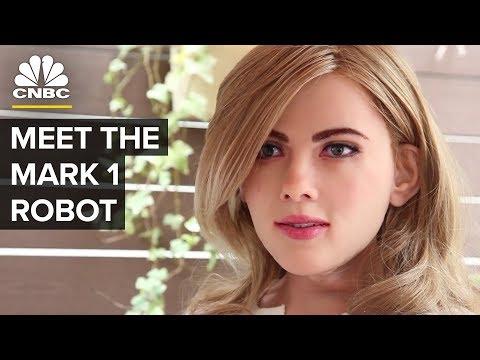 Meet Life-Sized Humanoid Robot Mark 1 | CNBC