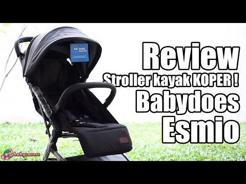 Review Stroller Babydoes Esmio   babysasori