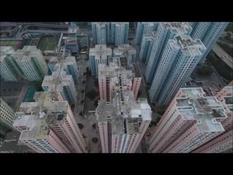 香港航拍之九龍灣 Kowloon Bay