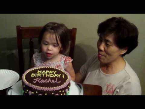 Rachel's 2nd Birthday (early celebration)