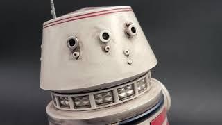 R5-D4 Droid Custom Fan Made Statue Prop