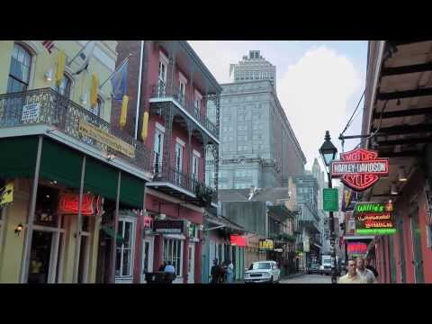 New Orleans French Quarter Tour 2012 Part 1