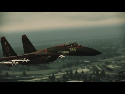 Ace Combat: Assault Horizon | Mission 16 - Akula [Elite] | Su-33 -Strigon-