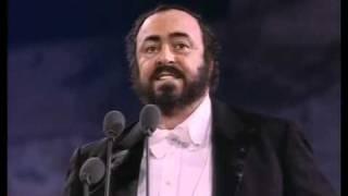 Luciano Pavarotti. Recondita armonia. Tosca. G. Puccini.