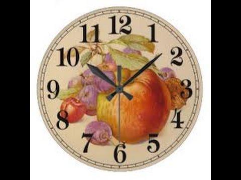 Como Pintar una Textura para un Reloj en una Servilleta - Hogar Tv  por Juan Gonzalo Angel