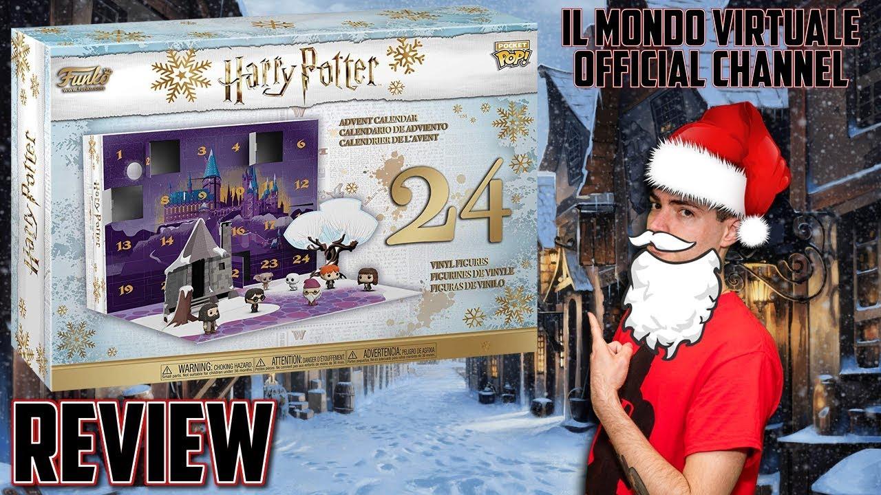 Calendario Dellavvento Harry Potter Funko.Calendario Dell Avvento Di Harry Potter Funko Review