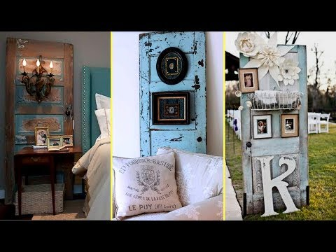 💚DIY Repurposed Furniture Ideas – Old Door Recycling/Home decor ideas 2017💚