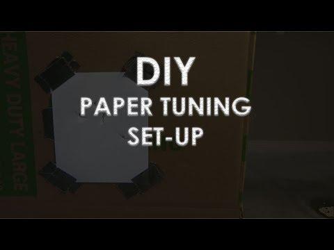 DIY Paper Tuning Setup *FREE*