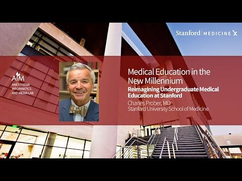 Stanford Med X Live! Undergraduate Medical Education