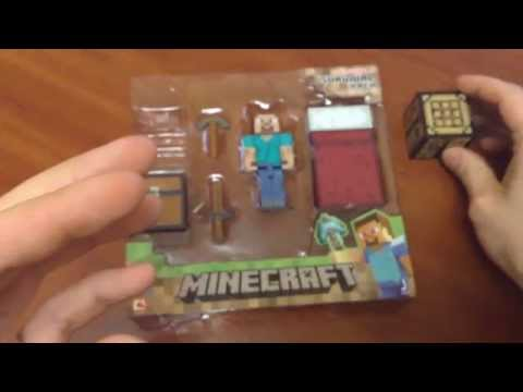 Minecraft Toys and Paper Craft works no bad words. fake toys игрушки майнкрафт