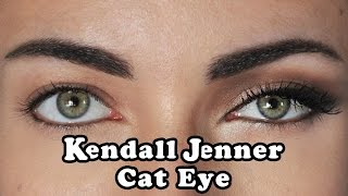 How To: Kendall Jenner DayTime Cat Eye Makeup Tutorial | MakeupAndArtFreak