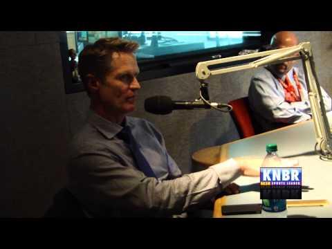 Steve Kerr in-studio at KNBR part 2