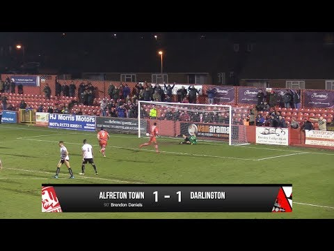 Alfreton Town 1-1 Darlington - Vanarama National League North - 2017/18