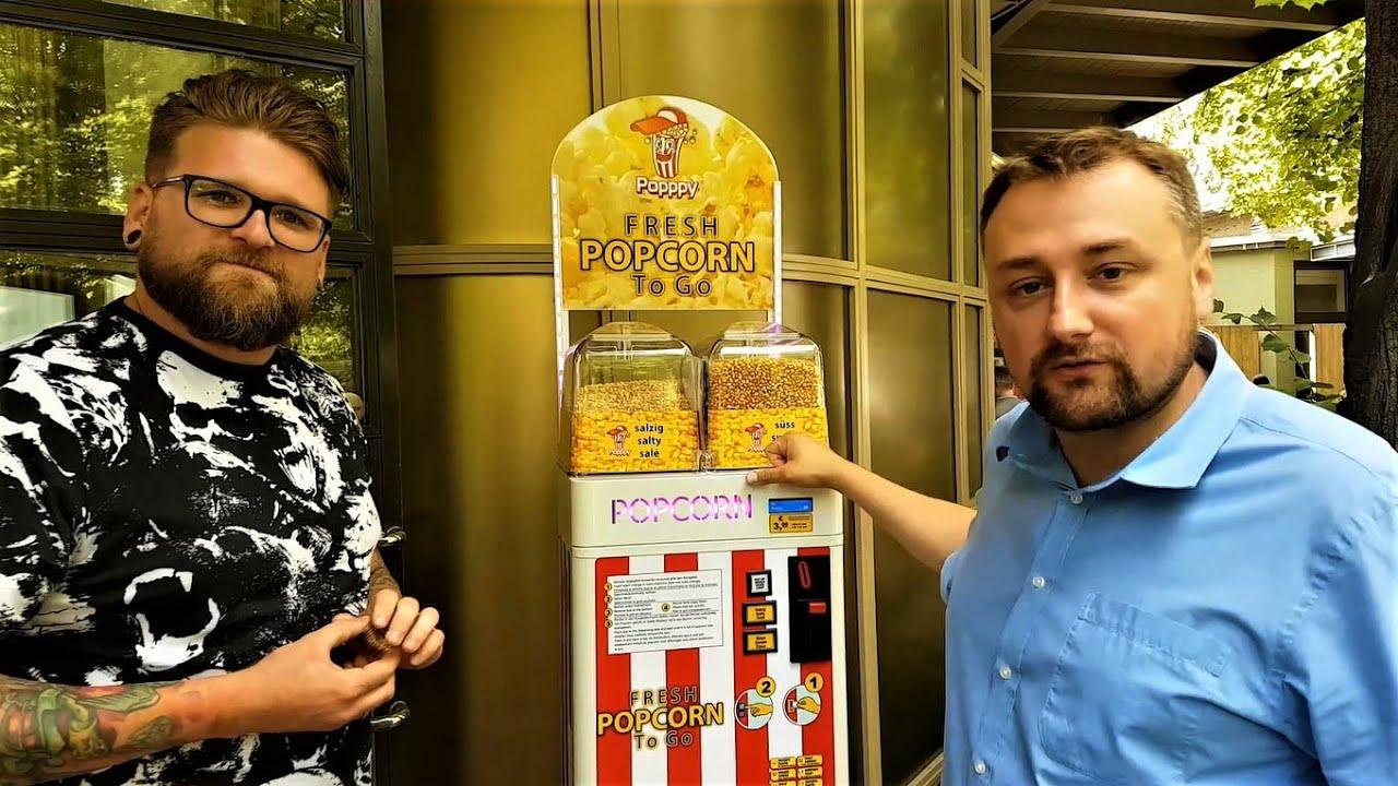 Pomysł na biznes – Automat do Popcornu
