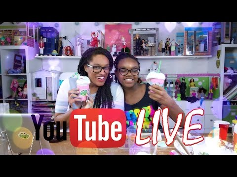 YouTube Live with the Froggy's:  Weekly Updates | Crafts | Q&A | Shout Outs PLUS SLIME Frappuccino