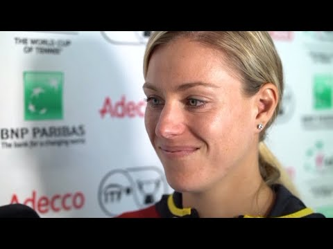DAZN: FED CUP - Interview mit Angelique Kerber