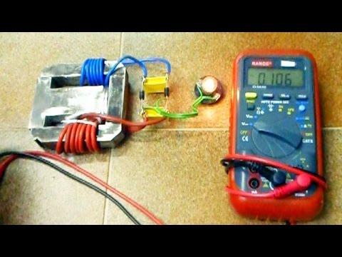 Overunity Magnet Transformer Free Energy Generator Youtube