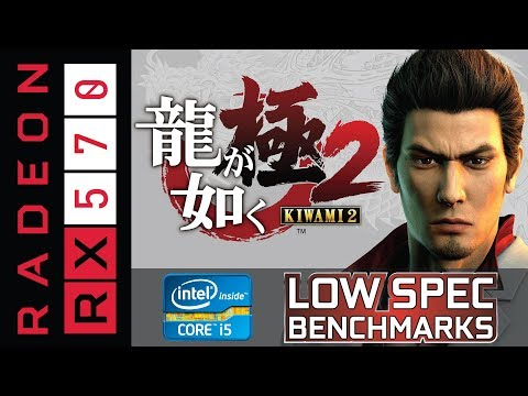 Yakuza Kiwami 2 on RX 570 | i5-2320 | 8GB DDR3 |