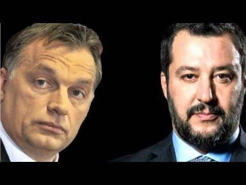 Viktor Orban and Matteo Salvini Form United Anti-Immigration Front!!!