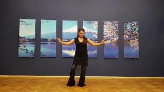 Видеоуроки по базе танца живота от Лейлы Адоры. Урок 6