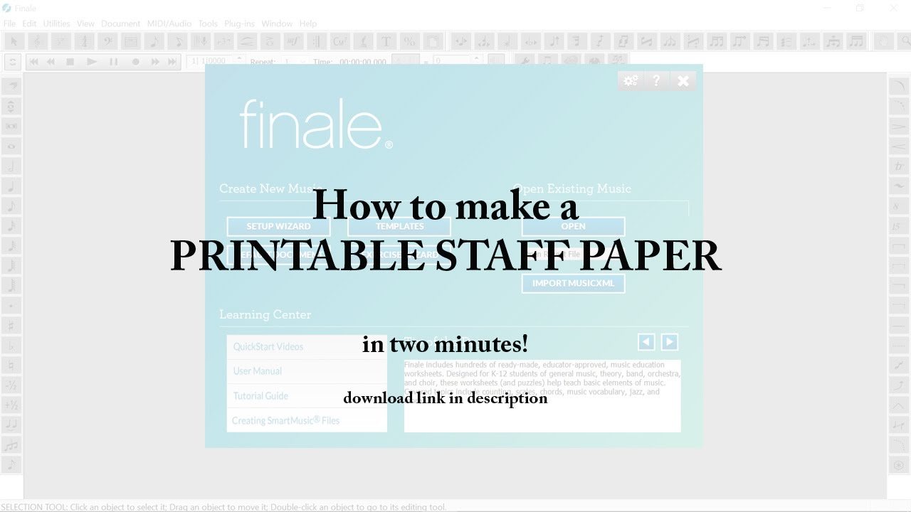 music staff paper printable - Vatoz.atozdevelopment.co