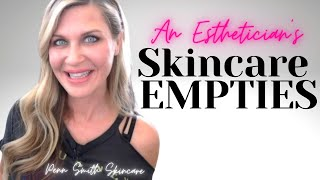 Skincare EMPTIES | FAVES I SAVED from the TRASH!
