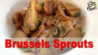 Vegan Brussels Sprouts With Mushroom Gravy (oil-free, Non-dairy, Vegan) Recipe