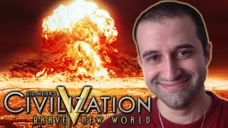 Civilization 5: Nuclear Strike Leads to Surrender and Disconnect