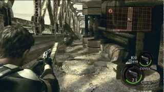 Resident Evil 5 Walkthrough Part 3 ( Veteran Chapter 2-1 )