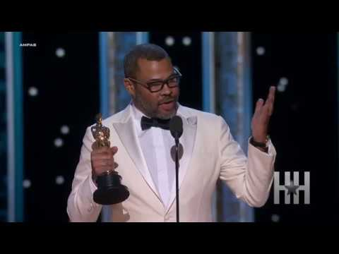 Jordan Peele Accepts Academy Award For Best Original Screenplay