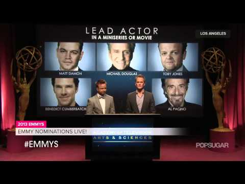 2013 Emmy Nominations With Neil Patrick Harris and Aaron Paul LIVE Coverage!