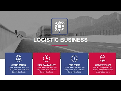 Logistics PowerPoint Presentation Template YouTube