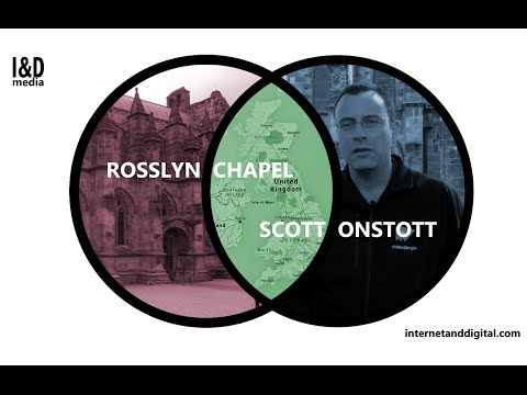 Scott Onstott [Secrets In Plain Sight] Interview at Rosslyn Chapel Scotland