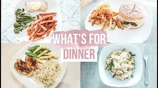 WHAT'S FOR DINNER?   COOK WITH ME   EASY FAMILY MEAL IDEAS FOR WEEKNIGHTS   Family Dinner Ideas