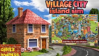 Village City Island Sim Mobile/Tablet/iphone/ipad Game First Look Playthrough