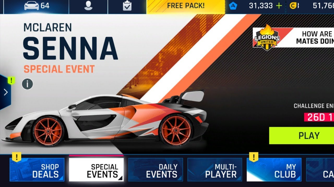 Asphalt 9: An Event that's Even More P2W than the Jesko Event