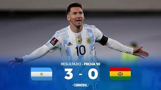 Eliminatorias Sudamericanas | Argentina 3-0 Bolivia