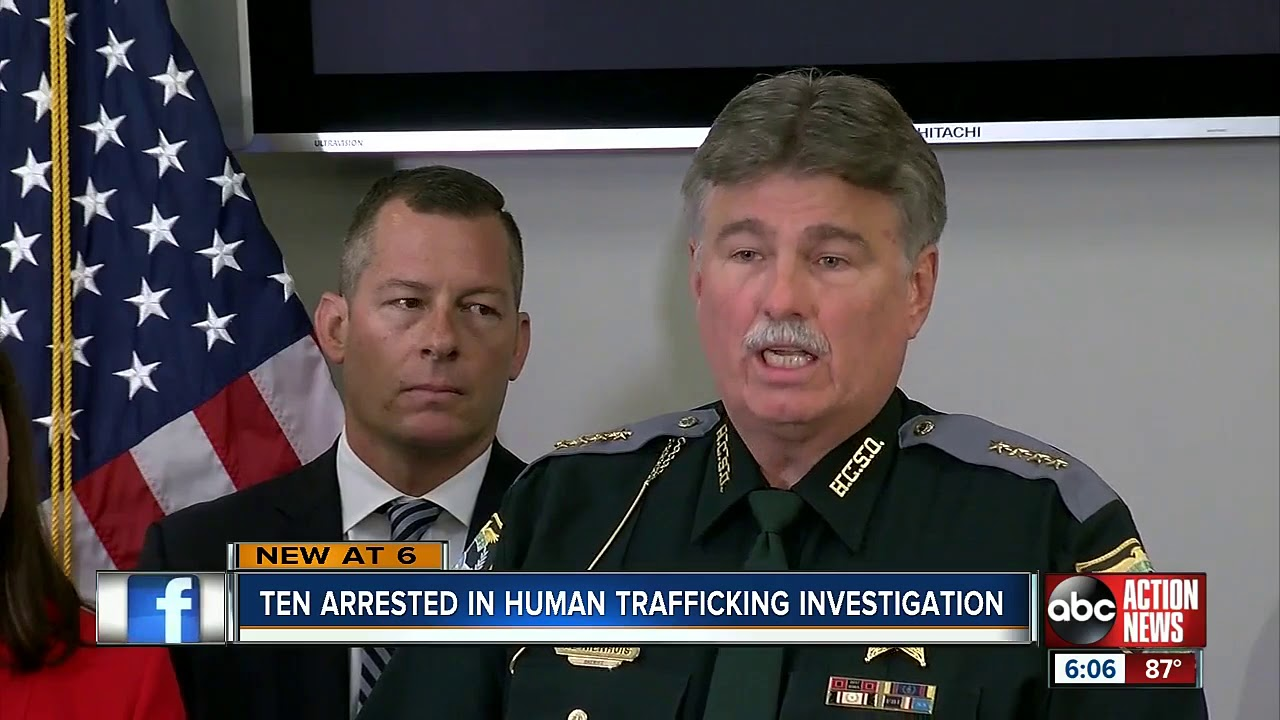 CAVE BEAST FIRE COMMISIONER IN HUMAN TRAFFICKING