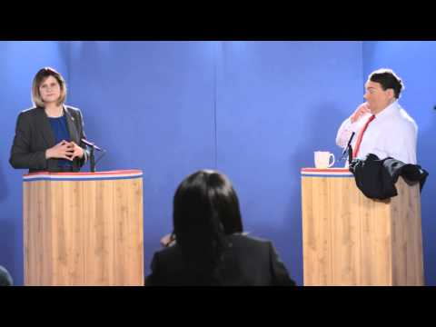 Election 2016 | Chris Christie vs Hillary Clinton | First Presidential Debate Complete | TWN | Ep.7